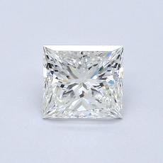 Recommended Stone #1: 1.00-Carat Princess Cut