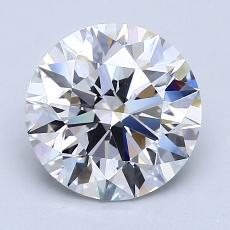 Recommended Stone #2: 2.20-Carat Round Cut
