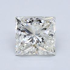 1.50-Carat Princess Diamond Very Good J VS1