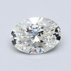 1.00 Carat Ovalado Diamond Muy buena H VS2