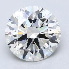 Recommended Stone #1: 2,50-Carat Round Cut