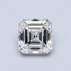 推薦鑽石 #2: 0.90 Carat Asscher Cut
