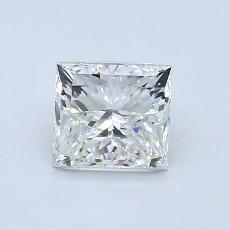 1,01 Carat Princesse Diamond Très bonne I VVS2