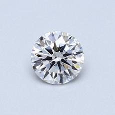 推荐宝石 3:0.43 克拉圆形切割