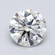 1.50 Carat 圆形 Diamond 理想 I VS1