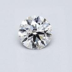 0.51-Carat Round Diamond Ideal D SI1