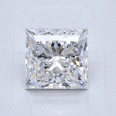 推薦鑽石 #2: 1.05 克拉公主方形切割