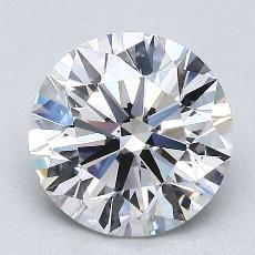 2,00-Carat Round Diamond Ideal F VS2