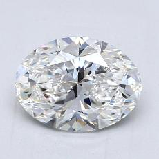 Recommended Stone #1: 1,52-Carat Oval Cut Diamond