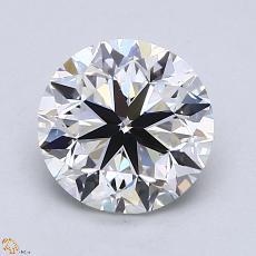 1,50-Carat Round Diamond Very Good E VS2