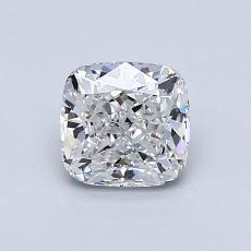 0.90-Carat Cushion Diamond Very Good F VS2