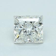 推薦鑽石 #3: 1.10 克拉公主方形切割