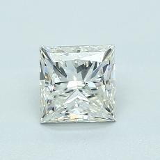 1.02-Carat Princess Diamond Good K SI2