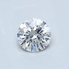0.51-Carat Round Diamond Ideal F SI2