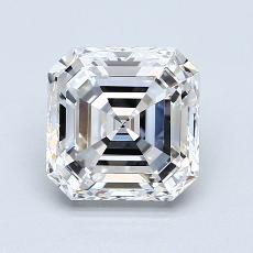 推薦鑽石 #4: 2.01 Carat Asscher Cut