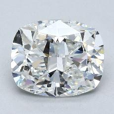 3.02-Carat Cushion Diamond Very Good F VVS2