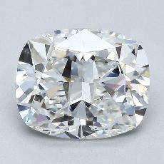 3,02 Carat Coussin Diamond Très bonne F VVS2