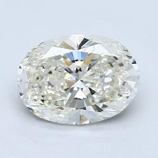 推薦鑽石 #4: 3.01  克拉橢圓形切割