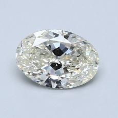 推荐宝石 4:0.96 克拉椭圆形切割