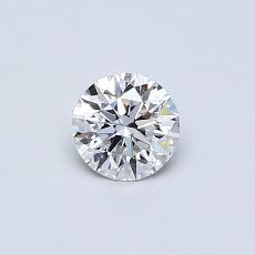推荐宝石 2:0.38 克拉圆形切割