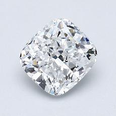 推薦鑽石 #2: 1.07 克拉墊形切割