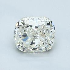 1.04-Carat Cushion Diamond Very Good K SI1