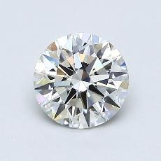 0,78 Carat Rond Diamond Idéale I VS1