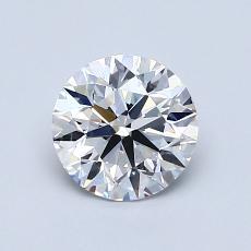 当前宝石:1.01 克拉圆形切割