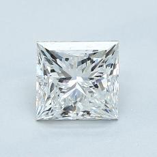 Recommended Stone #2: 1.02-Carat Princess Cut