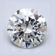 1,50-Carat Round Diamond Ideal I VVS1