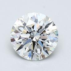 1,21 Carat Rond Diamond Idéale G VS2
