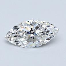 推薦鑽石 #4: 0.60 克拉欖尖形切割