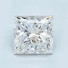 Current Stone: 1.22-Carat Princess Cut