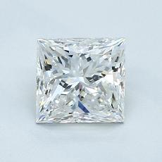 1,01 Carat Princesse Diamond Très bonne E VS1