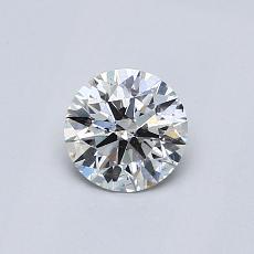 0.53 Carat 圓形 Diamond 理想 I SI2