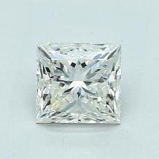 当前宝石:1.06 克拉公主方型切割