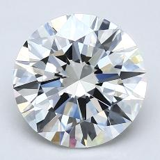 Recommended Stone #2: 2.70-Carat Round Cut