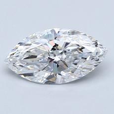 推薦鑽石 #2: 1.02 克拉欖尖形切割