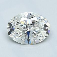 推薦鑽石 #2: 1.01  克拉橢圓形切割