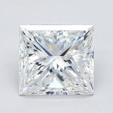 Recommended Stone #4: 2.01-Carat Princess Cut