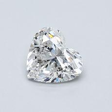 Recommended Stone #2: 0.57-Carat Heart Shaped