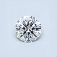 推荐宝石 4:0.45 克拉圆形切割