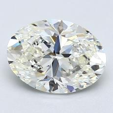 Recommended Stone #1: 2,01-Carat Oval Cut