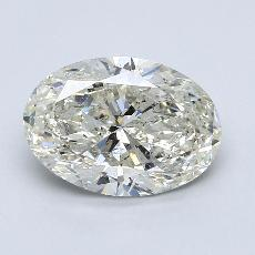Recommended Stone #3: 3,01-Carat Oval Cut