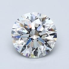 推薦鑽石 #1: 1.50  克拉圓形切割