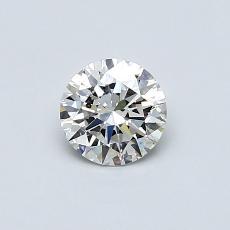 推薦鑽石 #4: 0.50  克拉圓形切割