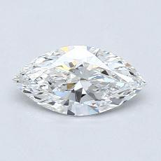 推薦鑽石 #2: 0.53 克拉欖尖形切割