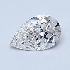 Current Stone: 0.80-Carat Pear Shaped