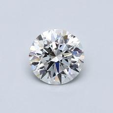Piedra recomendada 4: Talla redonda de 0.60 quilates