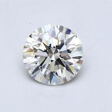 推荐宝石 1:0.70 克拉圆形切割